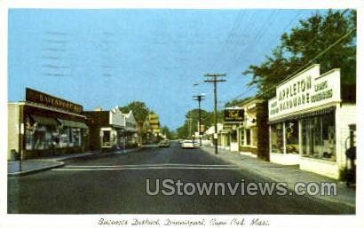 Business District, Dennisport - Cape Cod, Massachusetts MA Postcard