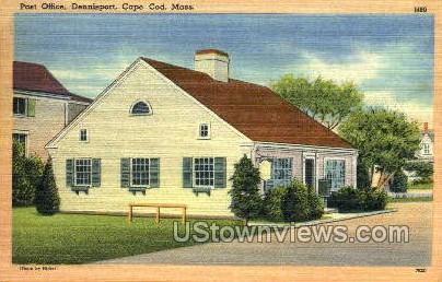 Post Office, Dennisport - Cape Cod, Massachusetts MA Postcard