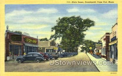 Main St., Dennisport - Cape Cod, Massachusetts MA Postcard
