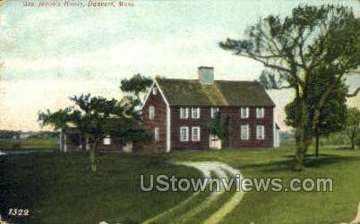 Gen. Jacob's House - Danvers, Massachusetts MA Postcard
