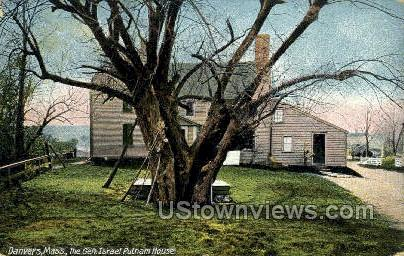 The Gen. Israel Putnam House - Danvers, Massachusetts MA Postcard