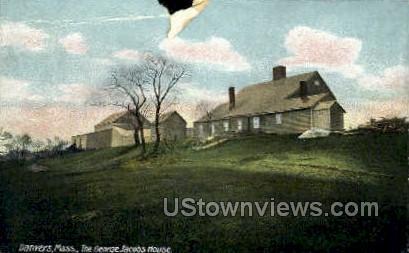The George Jacobs House - Danvers, Massachusetts MA Postcard