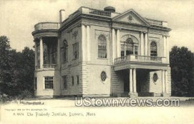 The Peabody Institute - Danvers, Massachusetts MA Postcard