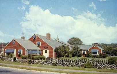 Home of Putnam Pantry Candles - Danvers, Massachusetts MA Postcard
