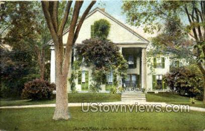Oak Knoll, Home of Poet Whittier - Danvers, Massachusetts MA Postcard