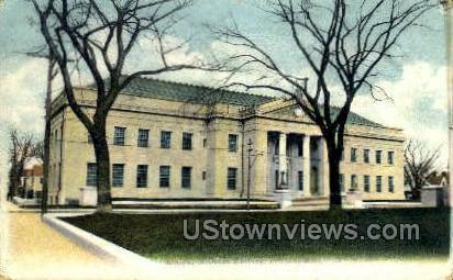 Registry of Deeds Building - Dedham, Massachusetts MA Postcard