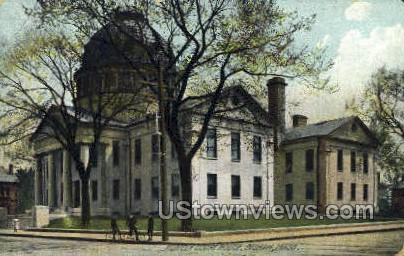 Norfolk Court House - Dedham, Massachusetts MA Postcard