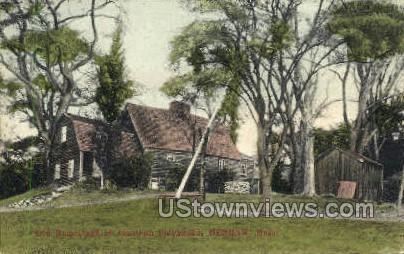 Homestead of Jonathan Fairbanks - Dedham, Massachusetts MA Postcard