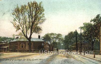 High St. - Dedham, Massachusetts MA Postcard