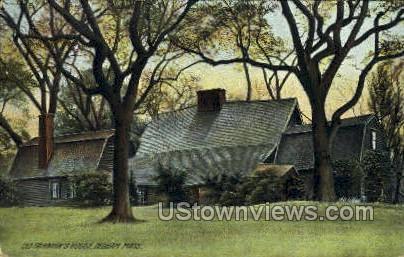 Old Fairbanks House - Dedham, Massachusetts MA Postcard