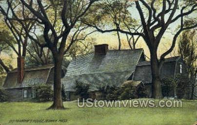 Fairbanks House - Dedham, Massachusetts MA Postcard