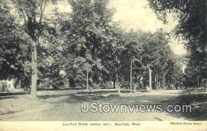 Deefield St. - Deerfield, Massachusetts MA Postcard