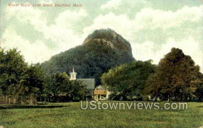 Mt Sugar Loaf - Deerfield, Massachusetts MA Postcard
