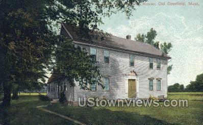 Rev. John Williams House - Deerfield, Massachusetts MA Postcard