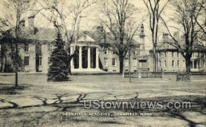 Deerfield Academy - Massachusetts MA Postcard
