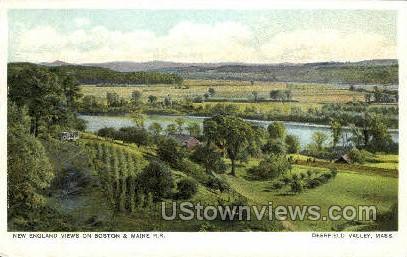 Deerfield, Massachusetts, MA Postcard