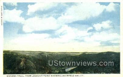Mohawk Trail - Deerfield, Massachusetts MA Postcard