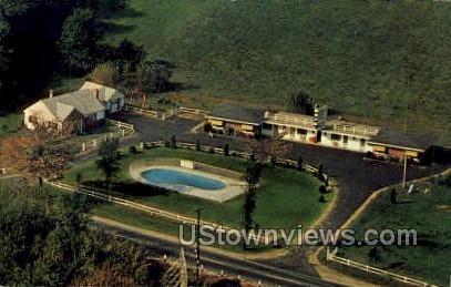 Deerfield Valley Motel - Massachusetts MA Postcard