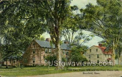 Old Nims House - Deerfield, Massachusetts MA Postcard