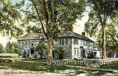 Frary House - Deerfield, Massachusetts MA Postcard