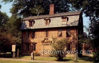 Dwight-Barnard House - Deerfield, Massachusetts MA Postcard