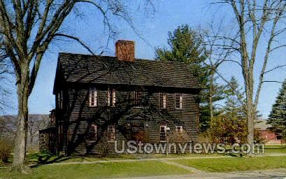 Sheldon-Hawks House - Deerfield, Massachusetts MA Postcard