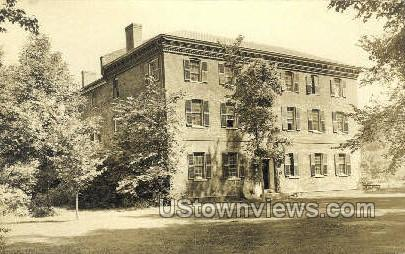 Real Photo -Memorial Hall - Deerfield, Massachusetts MA Postcard