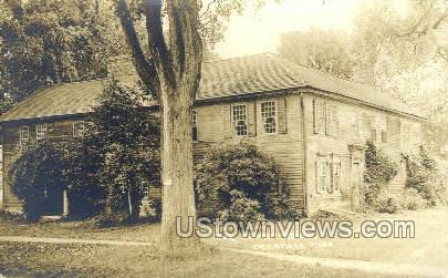 Real Photo -The Frary House - Deerfield, Massachusetts MA Postcard