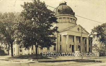 Real Photo -Court House - Dedham, Massachusetts MA Postcard