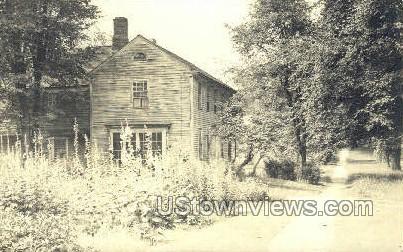Real Photo -House - Deerfield, Massachusetts MA Postcard