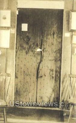 Real Photo -Door - Deerfield, Massachusetts MA Postcard