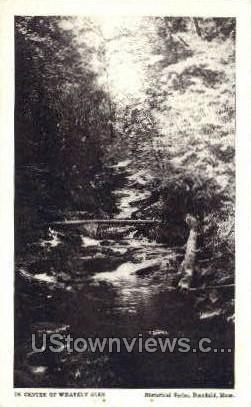 Whately Glen - Deerfield, Massachusetts MA Postcard