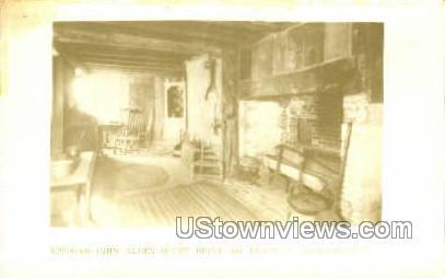 Kitchen, John Alden House - Duxbury, Massachusetts MA Postcard