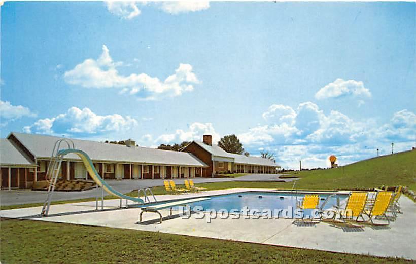 The Village Green Restaurant & Motor Inn - Danvers, Massachusetts MA Postcard