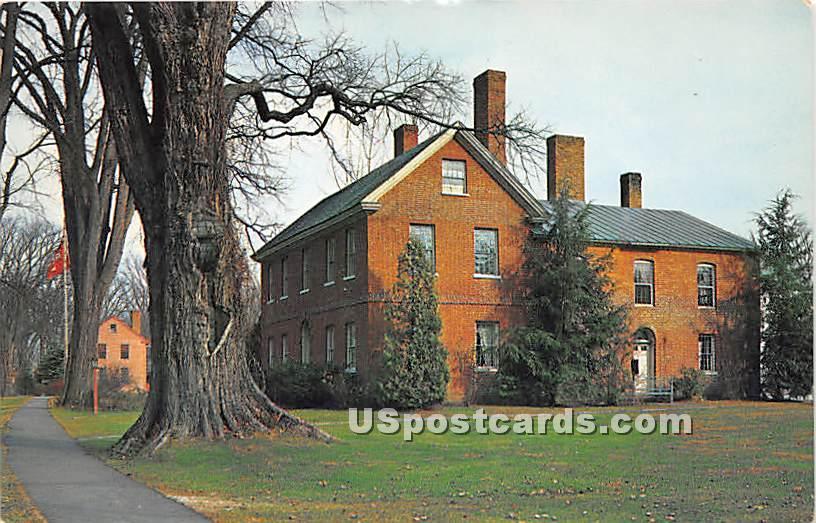 Asa Stebbins House - Deerfield, Massachusetts MA Postcard