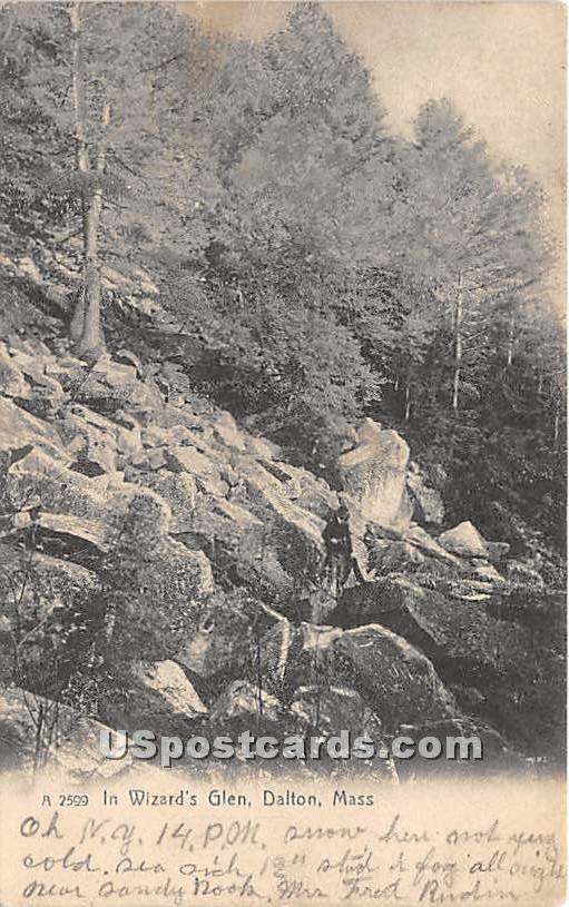 In Wizard's Glen - Dalton, Massachusetts MA Postcard