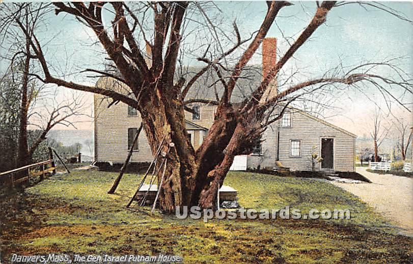 The Glen Israel Putnam House - Danvers, Massachusetts MA Postcard