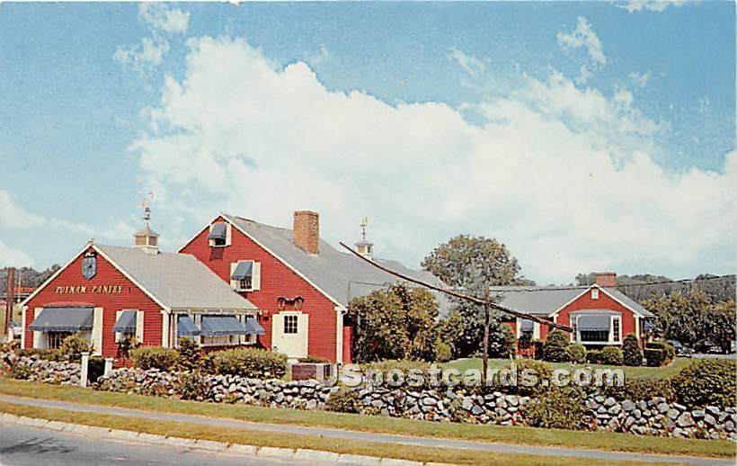 Home of Putnam Pantry's Original Ice Cream Smorgasbord - Danvers, Massachusetts MA Postcard