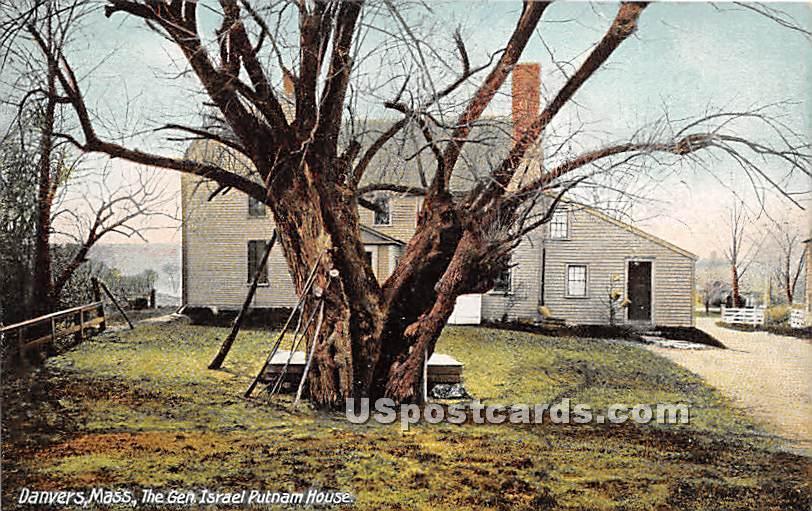 The Gen Israel Putnam House - Danvers, Massachusetts MA Postcard