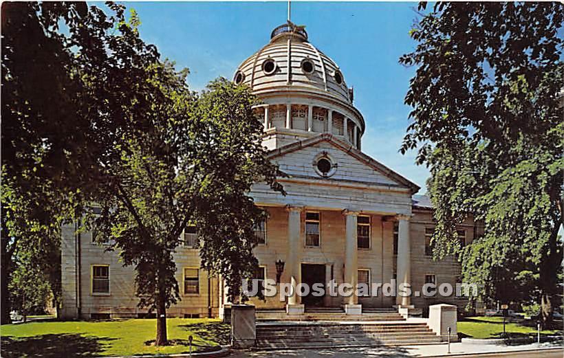 Norfolk County Court House - Dedham, Massachusetts MA Postcard