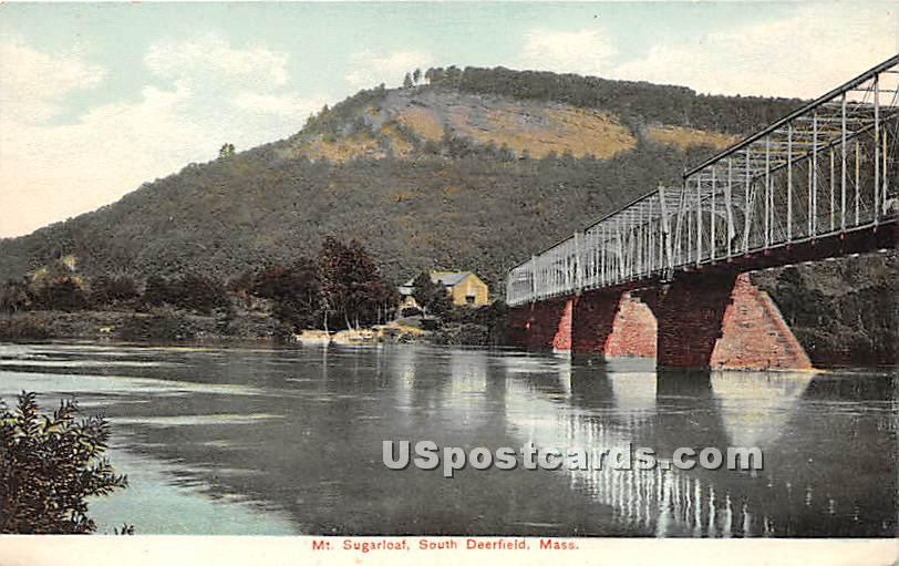 Mount Sugar Loaf - Deerfield, Massachusetts MA Postcard
