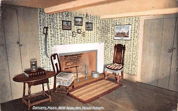Birth Room, Gen. Israel Putnam Danvers, Massachusetts Postcard