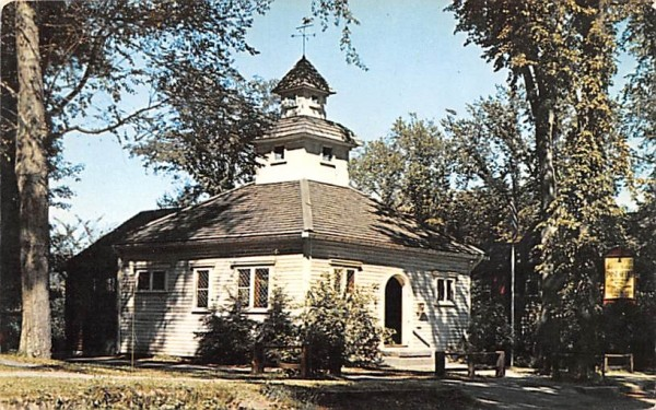 Deerfield Post Office Massachusetts Postcard