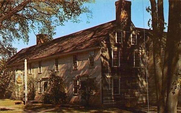 Historic Hall Tavern Deerfield, Massachusetts Postcard