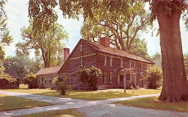 Frary House Deerfield, Massachusetts Postcard