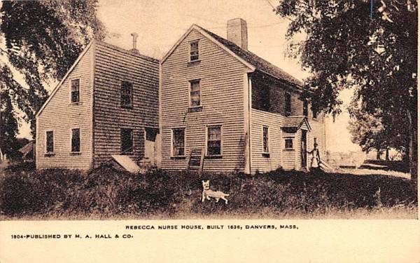 Rebecca Nurse House Danvers, Massachusetts Postcard