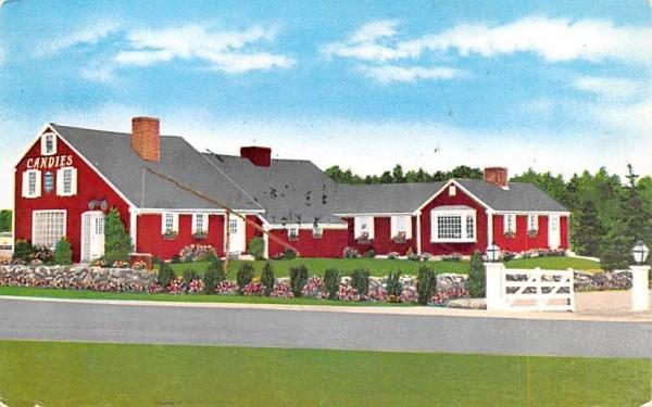 Home of Putnam Pantry Candies Danvers, Massachusetts Postcard