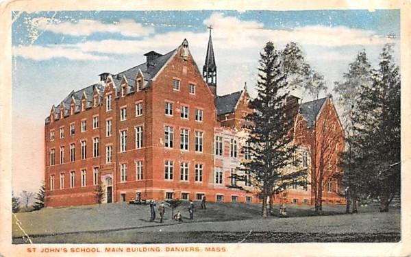 St. John's School Danvers, Massachusetts Postcard