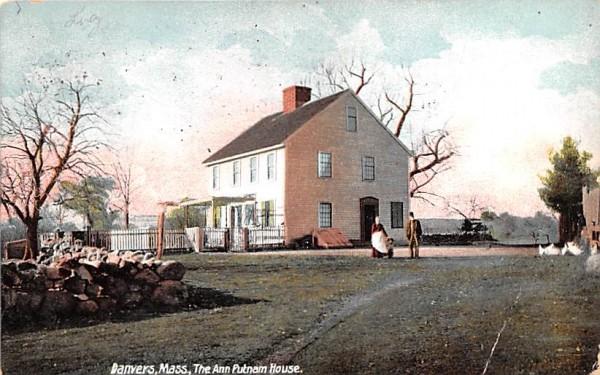 The Ann Putnam House Danvers, Massachusetts Postcard