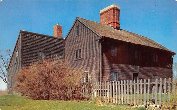 Home of Rebecca Nourse  Danvers, Massachusetts Postcard